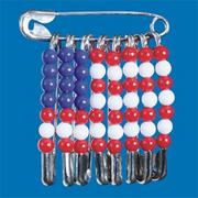 US Flag Pins Craft Kit (makes 12)