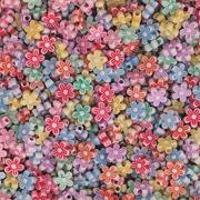 Flower Shape Spring Beads 1.8mm x 3/8&quot;, 1/2 lb.  (bag of 1570)