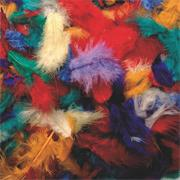 Assorted Fluff Feathers  (bag of 200)