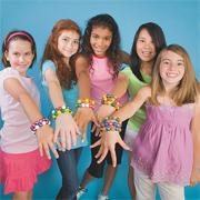 Color-Me Trading Bead Bracelets Kit (pack of 144)