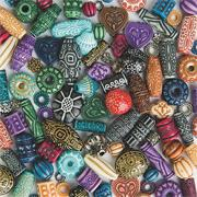 Old World Moroccan-Style Beads
