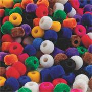 Fuzzy Pony Beads (bag of 850)