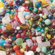 India Glass Bead Mix 1 lb.