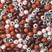 Sport Bead Assortment (pack of 144)