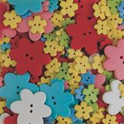 Specialty Flower Buttons