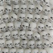 Glow-in-the-Dark Skull Beads
