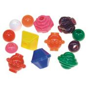 Large Plastic Lacing Beads  (bag of 100)