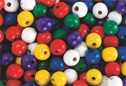 Large Wooden Beads  (bag of 1000)