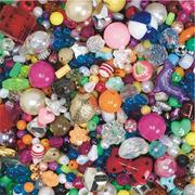 Budget Beads 1-lb. - Assorted  (bag of 1000)