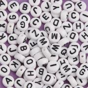 Alphabet Beads, 6mm  (bag of 144)