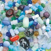 Glass Bead Mix, 1/2-lb  (bag of 350)