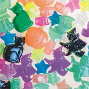 Halloween Glow Bead Assortment (bag of 260)
