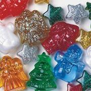 Christmas Bead Assortment (bag of 270)