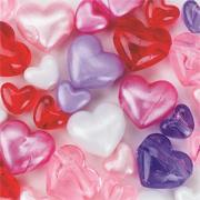 Heart Bead Assortment  (bag of 220)