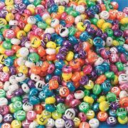 Pearl Alpha Beads, 1/2 lb. (bag of 600)