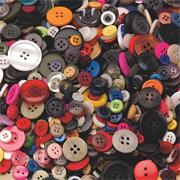 Craft Buttons 1-lb  (bag of 400)
