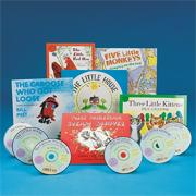 Children's Books with CDs (set of 6)
