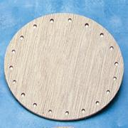 Wood Basket Bases 5&quot;  (pack of 12)