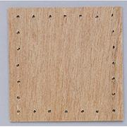 "Wood Basket Square Bases, 5""  (pack of 12)"