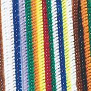Chenille Stems 6&quot;x4mm - Assorted Colors  (pack of 100)