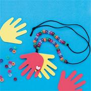 Helping Hands Necklaces Craft Kit (makes 12)