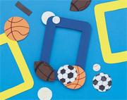 Team Sports Frame Craft Kit (makes 12)