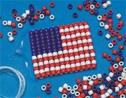 Flag Ornament Craft Kit (makes 12)