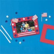 Stars 'N Stripes Frame� Craft Kit (makes 12)