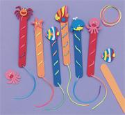 Sea Life Bookmarks Craft Kit (makes 12)