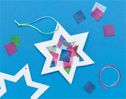 Star of David Sun Catcher Kit  (makes 12)