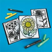 Fuzzy Flower Pictures Craft Kit (makes 12)