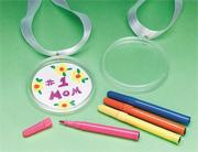 Color-Me Medal Craft Kit (makes 12)