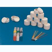 Round Ceramic Boxes Craft Kit (makes 12)