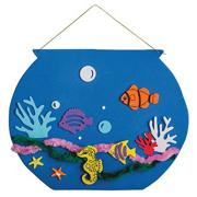 Super Foam Fishbowl Craft Kit  (makes 12)