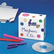 CD Cases Craft Kit (makes 12)