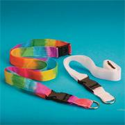 Color-Me Lanyards with Clip Craft Kit (makes 12)