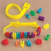 Summer Fun Bracelet Craft Kit (makes 12)