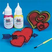 Heart Sun Catchers Craft Kit (makes 12)