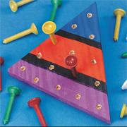 Wood Triangle Puzzle Craft Kit (makes 12)