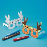 Reindeer Sunglasses Craft Kit (makes 12)