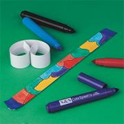 Color-Me Slap Bracelet Craft Kit (makes 12)