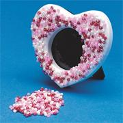 Heart Frame with Beads Craft Kit (makes 12)