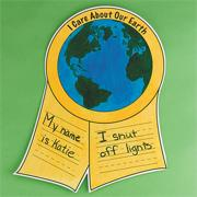 I Care About Earth Ribbon Craft Kit (makes 12)