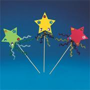 Star Wands Craft Kit (makes 12)