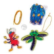 Animal Sun Catcher Craft Kit A (makes 12)