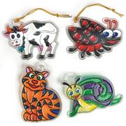 Animal Sun Catcher Craft Kit B (makes 12)