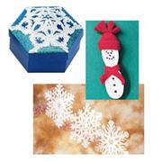 Winter Trio Craft Kit (makes 72)