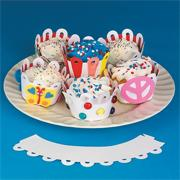 Cupcake Collars Craft Kit (makes 12)