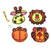 Zoo Animal Sun Catchers Craft Kit (makes 12)