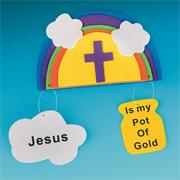 Jesus Is My Pot of Gold Craft Kit (makes 12)